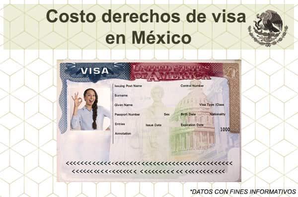 Costo de Visa Americana en Mexico